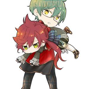 ヤコシャル抱っこアクキー☆7