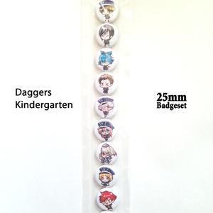 短刀ちゃん幼稚園ミニバッジセット