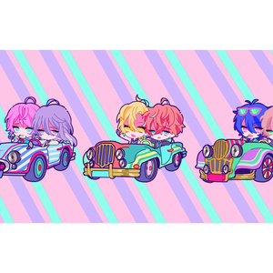 Sports Car.アクリルスタンド