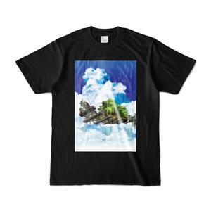 バンバーズTシャツ 黒T A-フルカラー