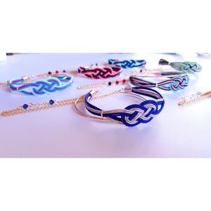 水引×ゴールドの3連バングル【にっかり青江ver.】