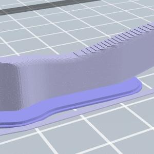 タイヤレバーの3Dモデル