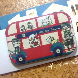 F/Z槍陣営缶バッチ:ロンドンバス