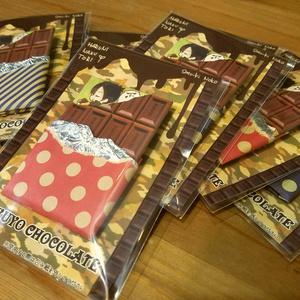 KOKUYOチョコレート缶バッジ