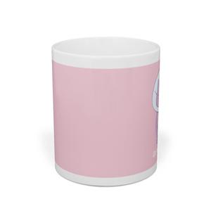 猫のマグカップ(ピンク)