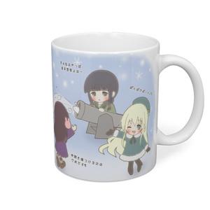 【艦これIMAGE】提督用BIGマグカップ『たたかう艦娘ちゃんたち。』