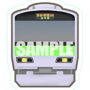 【鉄道】BIGステッカー(山手線イメージ)