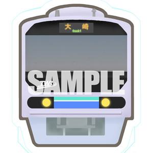 【鉄道】BIGステッカー(りんかい線イメージ)