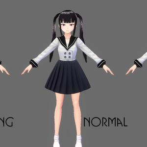 【VRoid】ワンピース向けスカートテクスチャセット