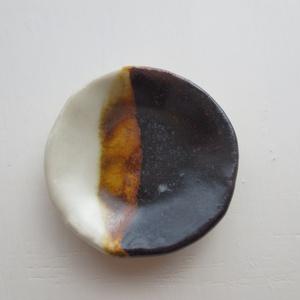 ミニチュア 陶器円形皿