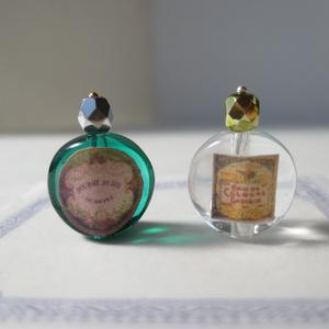ミニチュア 香水瓶透明