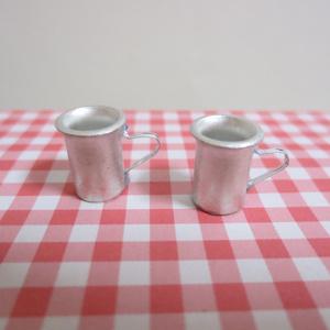 ミニチュア アルミマグカップ