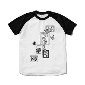 シマリス考_シマリスと額縁_Tシャツ