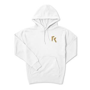 パーカー 靴下×アルファベット「R」
