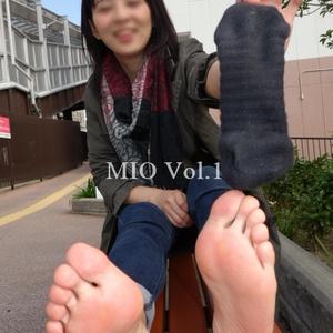 【足の裏 写真集】みお Vol.1