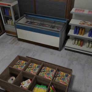 昭和駄菓子屋セット