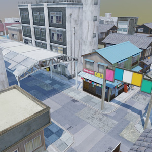昭和町モデル・ミニマップ02