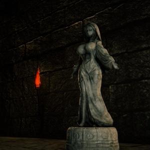 [3Dモデル]遺跡の女神像
