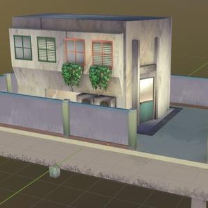カモメ町建物セット01