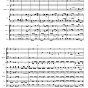 歌劇「美しいパースの娘」セレナーデ小編成管弦楽