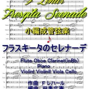 「フラスキータのセレナーデ」小編成管弦楽