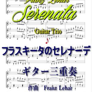 フラスキータのセレナーデ・ギター三重奏