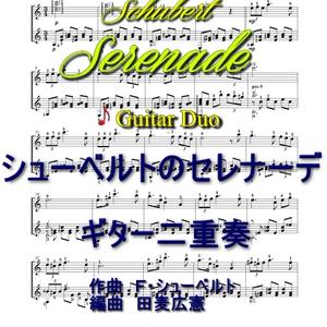 シューベルトの「セレナーデ」ギター二重奏