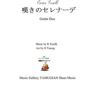 「嘆きのセレナーデ」ギター二重奏