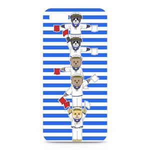 [巻きシッポ帝国]手旗iPhone5ケース