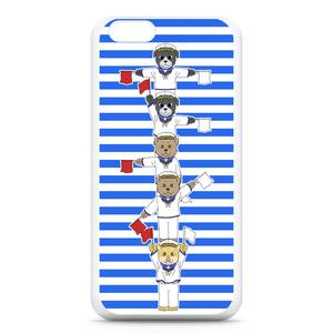 [巻きシッポ帝国]手旗iPhone6ケース
