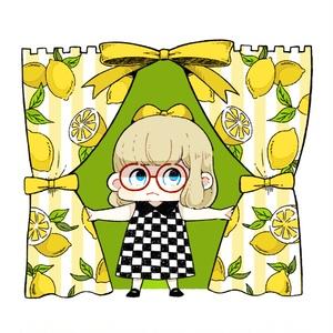 レモンの女の子(アクキー)