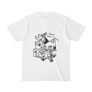 引越し業者な猫Tシャツ