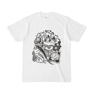 料理をする猫Tシャツ