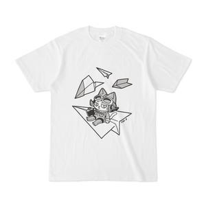 専用紙ヒコーキと猫のTシャツ