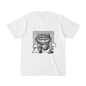 キャッチャーな猫Tシャツ