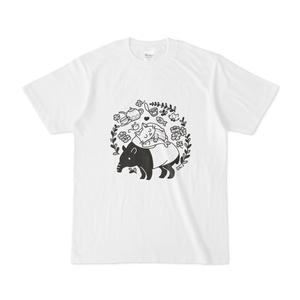 快眠な猫Tシャツ