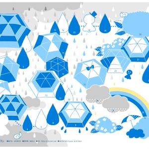 【無料配布】文字なし版おあそびペーパー「雨の日のすごろく」
