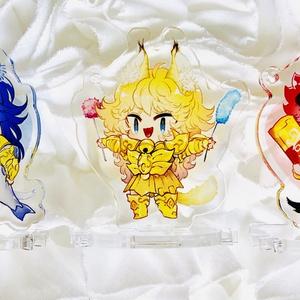 ネコ蠍アクリルスタンド(各1個500円)