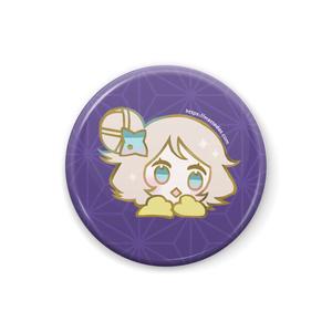 ちどり缶バッジ(紫)