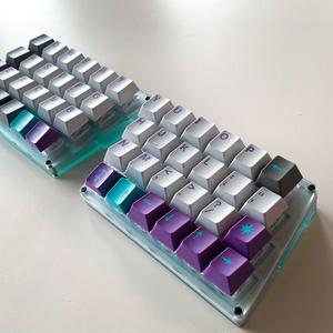 Zinc キーボードキット ガラスマット