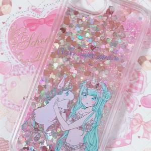 おやすみちゃん きらきらiPhoneケース