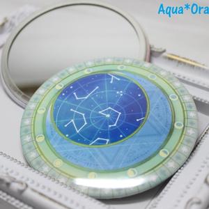 星月魔法図α/オリジナル缶ミラー