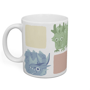 ドラゴンマグカップ