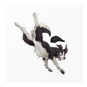 Hurét the Border Collie ステッカー