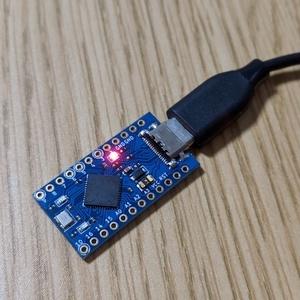 USB Type-C搭載 Pro Micro 互換機 Rev.3