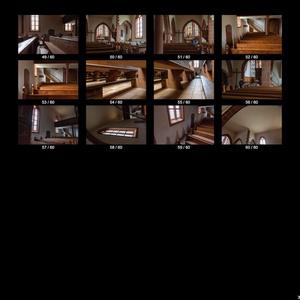 【無料】ブドウ畑に佇む教会内部(60点)