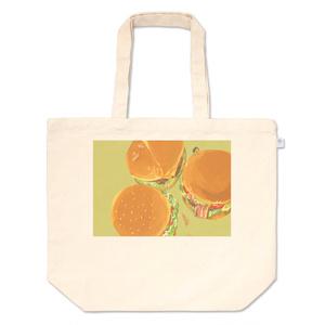 ハンバーガートートバッグ