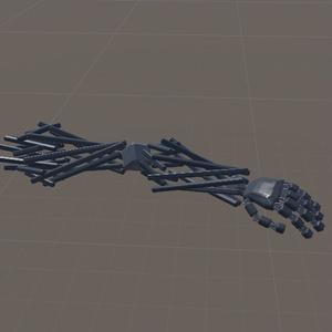 【3Dモデル】汎用義手Rattan(ラタン)