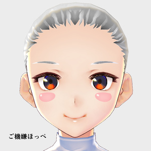 【VRoid用】表情追加テクスチャ二弾、5枚セット
