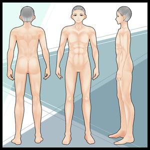 【VRoid】ムキムキ肉体肌